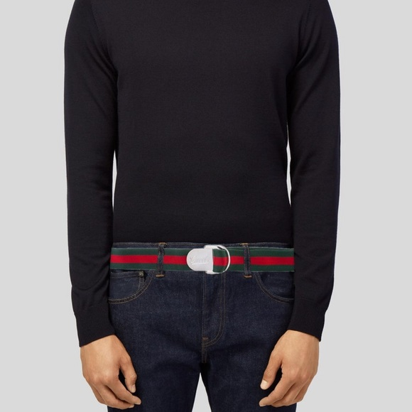 Gucci Other - Gucci Woven Logo Belt